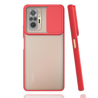 Xiaomi Redmi Note 10 Pro Kılıf Zore Lensi Kapak