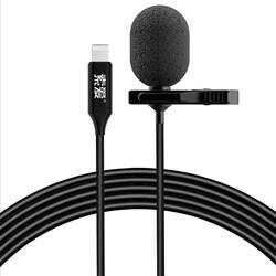 Zore MK3 Lightning Canlı Yayın Yaka Mikrofonu - Thumbnail
