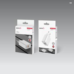 Zore XMac Serisi X4 22W Seyahat Şarj Başlığı - Thumbnail